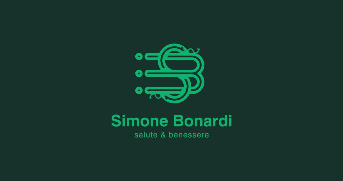 Logo e immagine coordinata Simone Bonardi - salute e benesse
