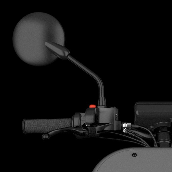 particolare scotter elettrico ME-ACD